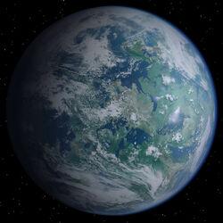 Alderaan planeet