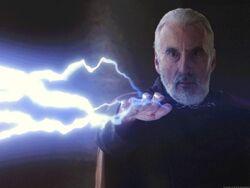 Dooku lightning
