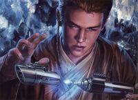 Anakin spada laser