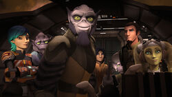 Zeb finds the Lasat homeworld