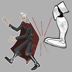Dooku Boot art