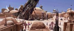 Mos Eisley spaceship