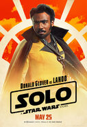 Solo A Star Wars Story Lando Calrissian character poster 2