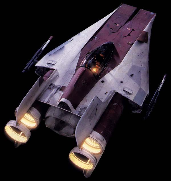 Rz 1 A Wing Interceptor: Starships Of The Galaxy (2007)