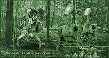 Battle droids Alaris