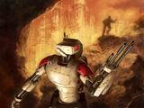 HKB-3 hunter-killer droid