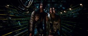 Rey and Finn Crawl Eravana