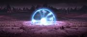 Electro-proton explosion