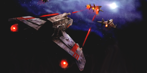 Gavin Darklighter Bold Wingman E-wing RACK