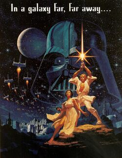 Star Wars Style B poster 1977