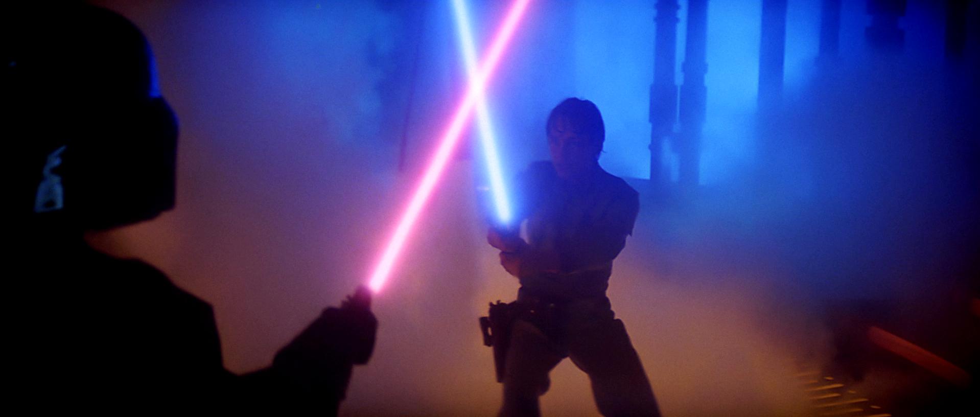 Blue Vintage Star Wars Replacement Jedi Luke Skywalker Lightsaber
