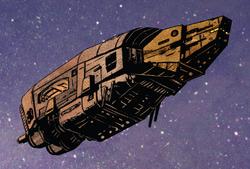 Nomad starship
