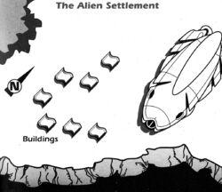 Alien settlement