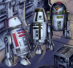 Astromech droidi série R