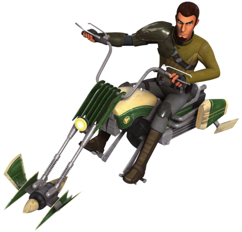 File:Kanan Speeder Bike Fathead.png