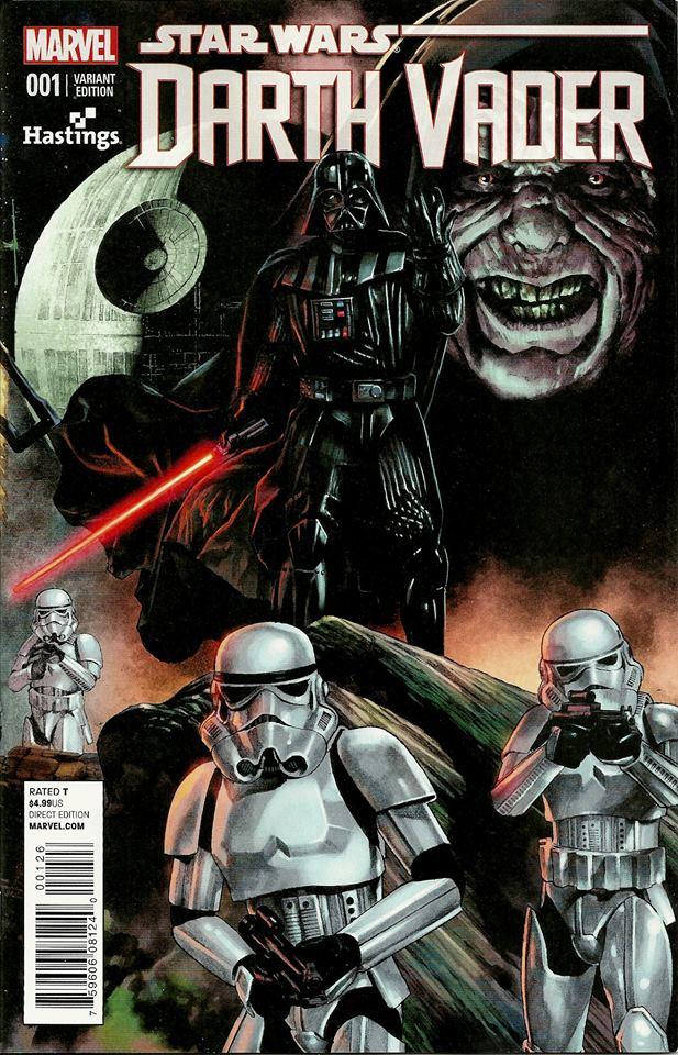 Star Wars Darth Vader Vol 1 Hastings Variant