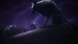 White Loth-wolf Ezra DUME