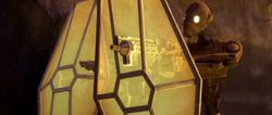 Commando droid personal shield