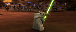 Yoda droideka faceoff