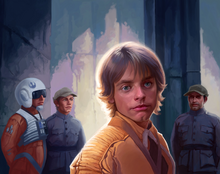 Luke Skywalker TCGAR