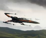 Poe Dameron X-wing XWM