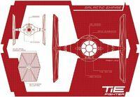 TIE fighter blueprints