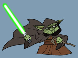 Yoda CW cartoon