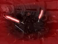 Jedi Exile using Force Rage