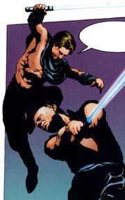 Corran Kam duel