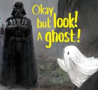 Darth Vader and a Ghost