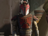Unidentified Mandalorian super commando captain