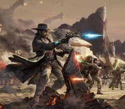 Nico Okarr Great Galactic War