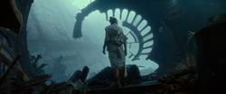 Rey on Death Star