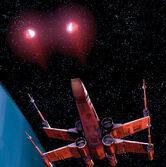 X-wing protonové torpedo