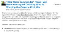Disney Interactive Commander release date