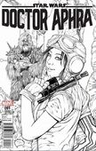 Doctor Aphra 1 The Brain Trust Exclusive Black and White
