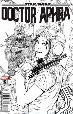 File:Doctor Aphra 1 The Brain Trust Exclusive Black and White.jpg
