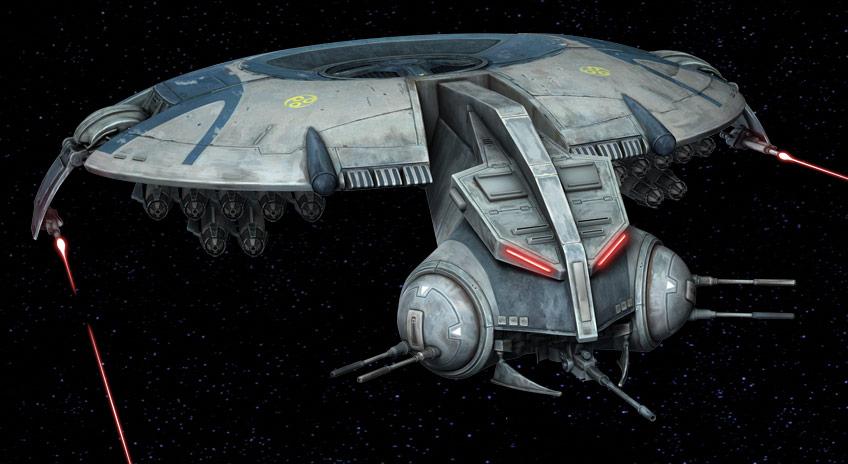 STAR WARS Vehicle Clone Wars COMMAND GUNSHIP LAAT Wing Missile Original Part