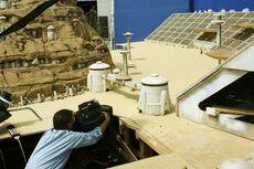 Mos Espa Grand Arena Behind the scenes