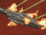 Unidentified Mon Calamari cruiser 1