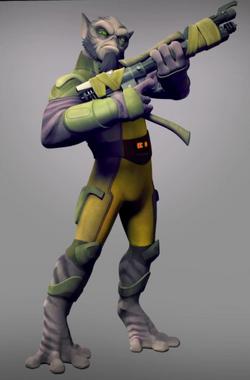 Zeb Bo-Rifle