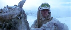 Luke on TaunTaun