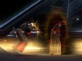 Duel on Vivicar's ship