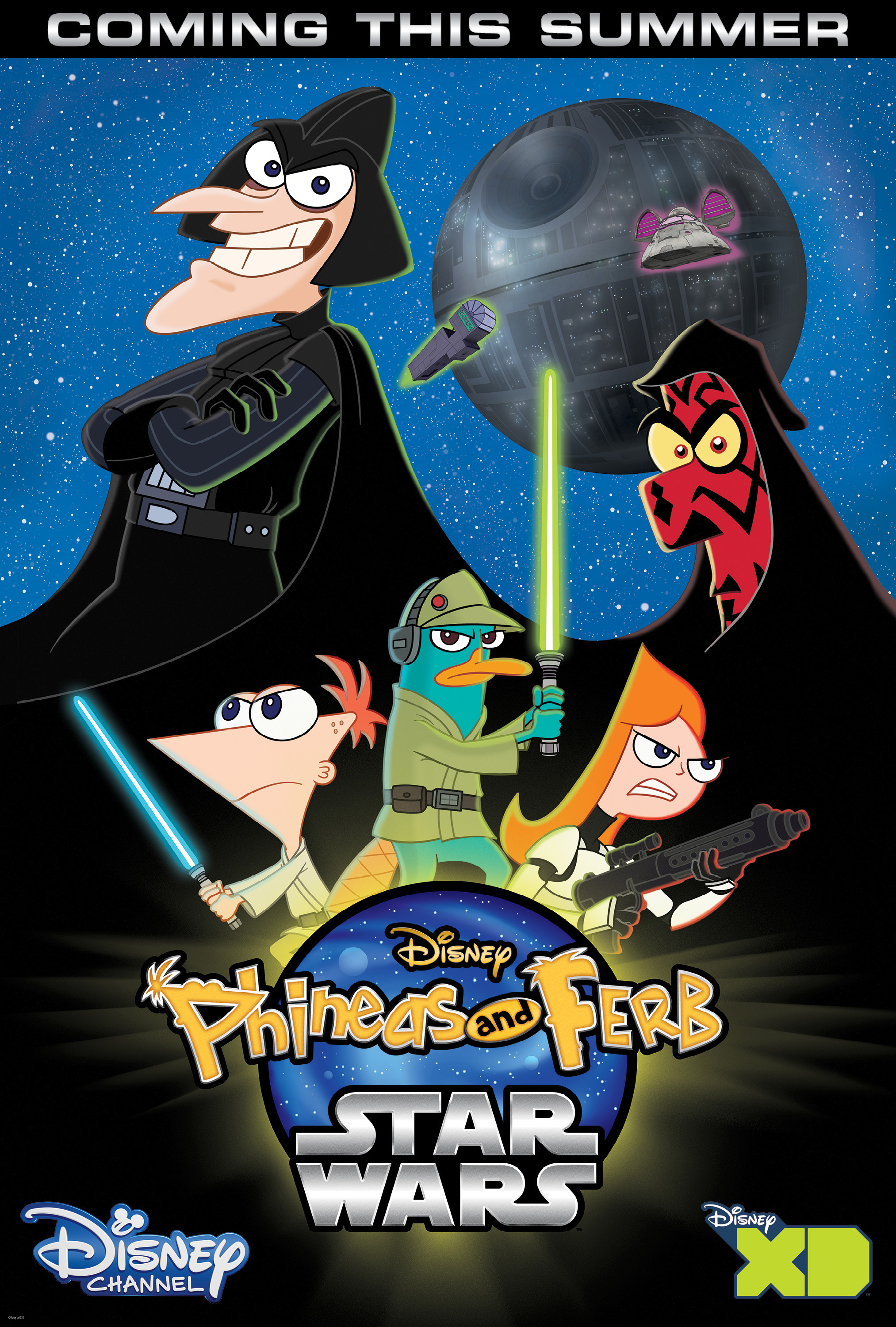 watch phineas and ferb star wars free