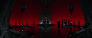 Snoke throne room