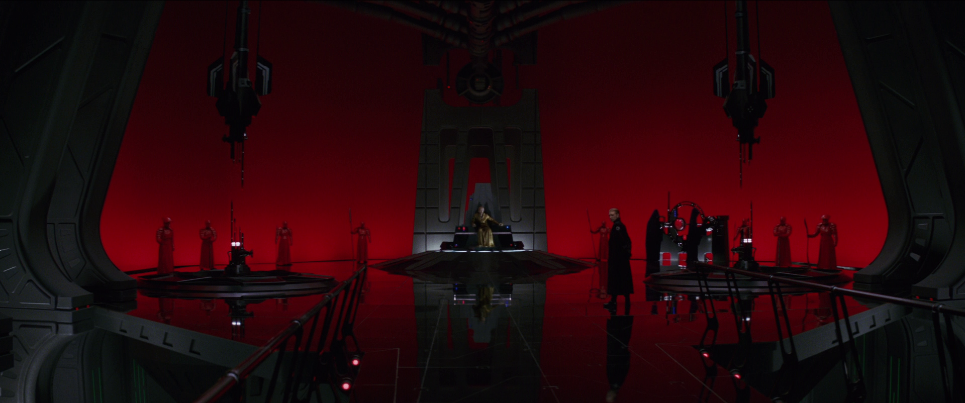 Image result for the last jedi throne room