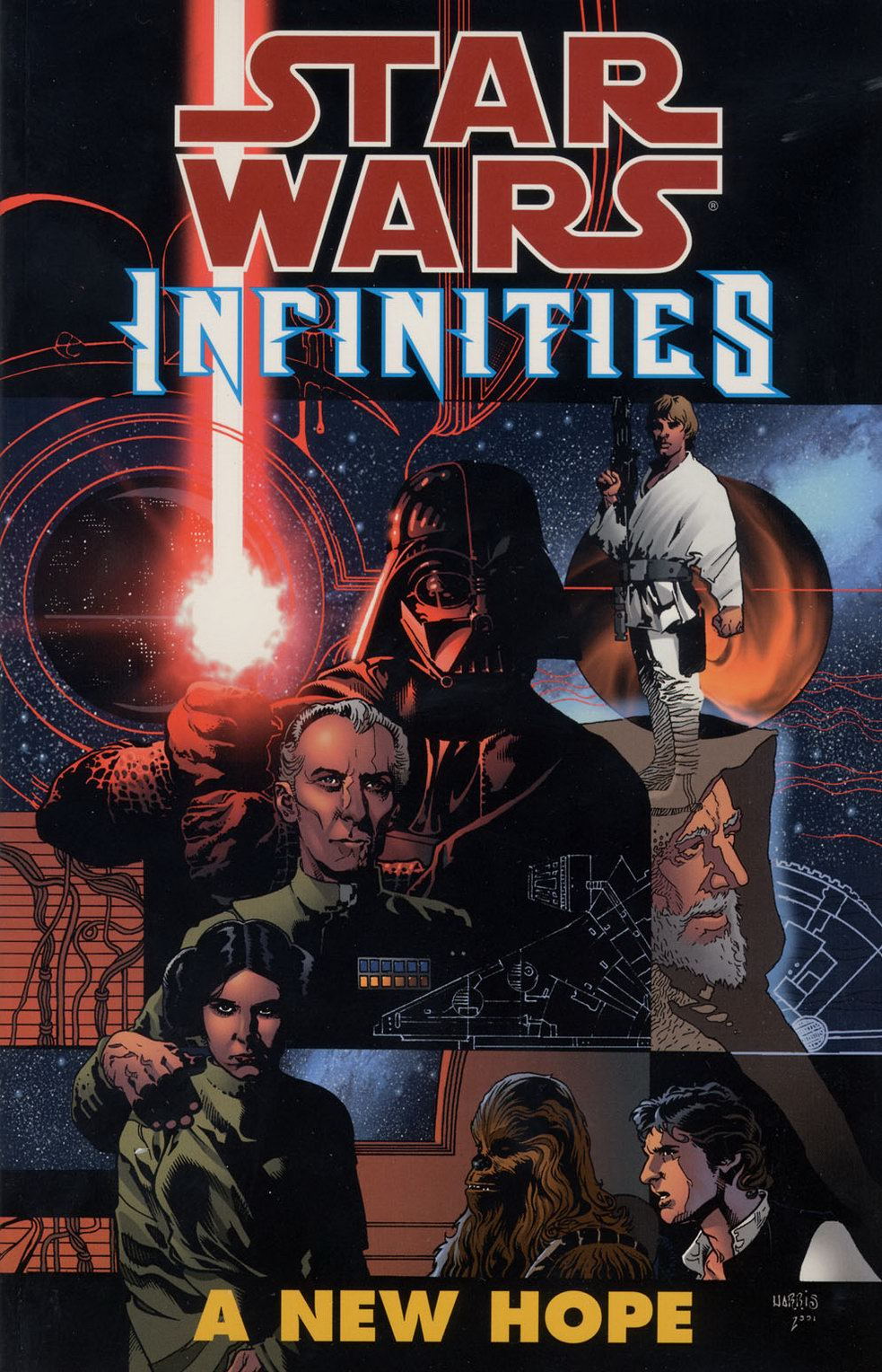 Star Wars Infinities A New Hope Wookieepedia Fandom Powered By