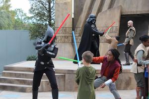 Jedi Temple Duel