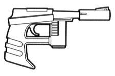 Penetrator MB-450 sporting blaster pistol