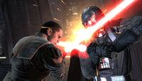 Starkiller vs Vader